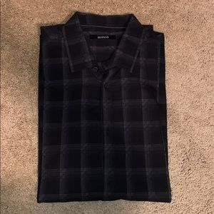 NWT Alfani button down with tab sleeves
